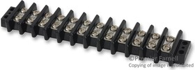 603-GP-12, TERMINAL BLOCK, BARRIER, 12 POSITION, 12-10AWG