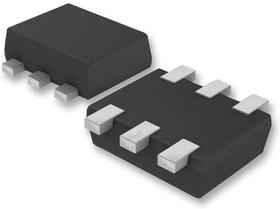 EMT52T2R, Массив биполярных транзисторов, Двойной PNP, -50 В, 150 мВт, -100 мА, 120 hFE, SOT-563