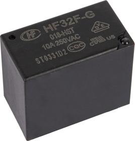 Фото 1/2 HF32F-G/018-HST, Реле 1зам. 18VDC/ 10A, 250VAC