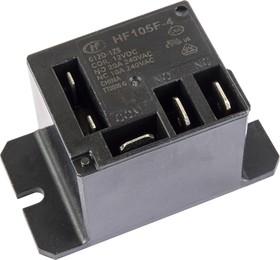 HF105F-4/012D-1ZS (TR91F-12VDC-SC), Реле 1пер. 12VDC/ 10A, 240VAC