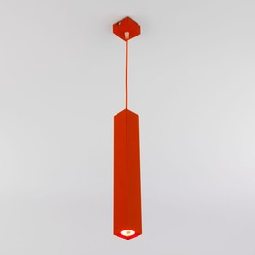 Фото 1/5 50154/1 LED / подвесной светильник красный