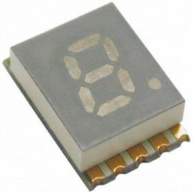 KCSC02-123 5.1мм,7сег,зел,26мКд