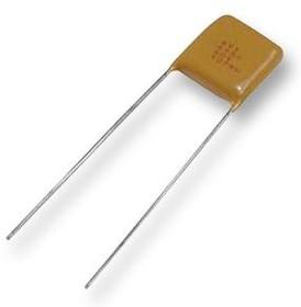 Фото 1/2 SR201A102JAA, Многослойный керамический конденсатор, 1000 пФ, 100 В, Серия SkyCap SR, ± 5%, Радиальные Выводы