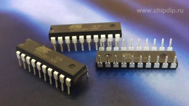 AT89C2051-24PU PDIP20.  Товары, упомянутые в ролике.  Мощность выходных ключей микроконтроллера AT89C2051 допускает...