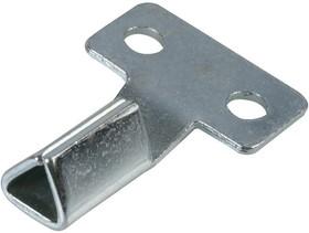 D02074, Ключ счетчика, оцинкованный