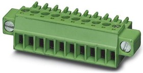 1763180, Conn Terminal Block PL 3 POS 3.81mm Screw Cable Mount 8A