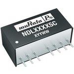 Фото 2/3 NDL4805SC, Module DC-DC 48VIN 1-OUT 5V 0.4A 2W 7-Pin SIP Module
