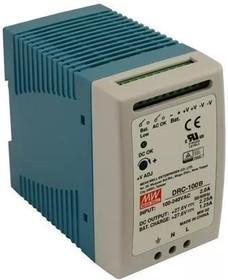 DRC-100B, Блок питания с функцией UPS, 27.6В,2.25А; 27.6В,1.25А; 96.6Вт