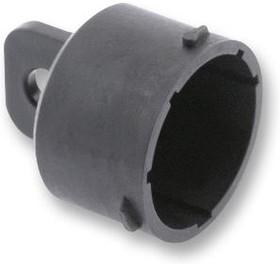 UTS618DCG2, Пылезащитная крышка, размер 18, Крышка, Штекерами SOURIAU UTS размера 18, Корпус из Термопластика