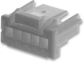 ZER-06V-S, Корпус разъема, Серия ZE, Гнездо, 6 вывод(-ов), 1.5 мм, Обжимными гнездовыми контактами серии SZE