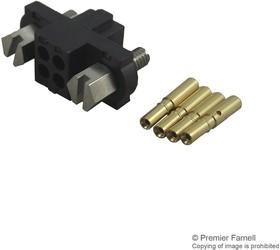 M80-4601205, Разъем типа провод-плата, винты, 2 мм, 12 контакт(-ов), Гнездо, Datamate J-Tek M80 Series, Обжим
