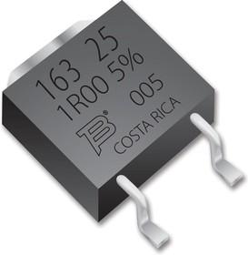 PWR163S-25-2R00F, SMD чип резистор, толстопленочный, 2 Ом, 250 В, TO-252 (DPAK), 25 Вт, ± 1%, Серия PWR163