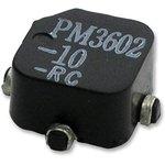 PM3602-100-RC, Индуктор, 100мкГн, 20%, 0.4Ом, 580мА ...