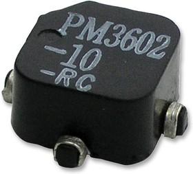 PM3604-250-RC, Индуктор, 250мкГн, 20%, 0.53Ом, 600мА, 13.97мм x 11.48мм x 6.73мм