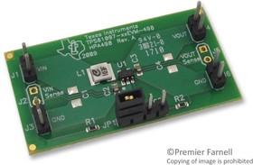 TPS61097-33EVM-498, Оценочный модуль для повышающего преобразователя с переключателем обхода, 0.9В вход, 3.3В выход