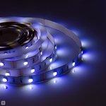Фото 5/5 00-100, Лента светодиодная RGBW 12В, 7,2Вт/м, smd 5050, 30 д/м, IP20, 10мм,цена за 1м.