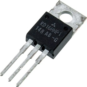 RD16HHF1, Транзистор, 30МГц, 16Вт [TO-220AB]   купить в розницу и оптом
