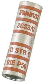 Фото 1/3 SCS8-L, Splice Terminal (4.7/0)AWG Copper 38.1mm Electro Tin
