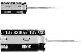 UHD1H151MPD, Cap Aluminum Lytic 150uF 50V 20% (10 X 12.5mm) Radial 5mm 979mA 4000h 105°C Bulk