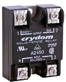 D2410-10, Solid State Relay 12mA 32V DC-IN 10A 280V AC-OUT 4-Pin