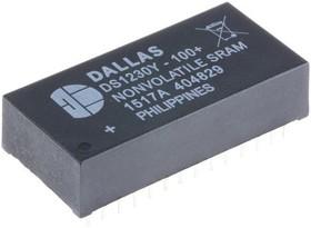 Фото 1/2 DS1230Y-100+, NV SRAM 256Кбит Com DIP28