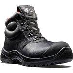V6863.01/11, Rhino Black Composite Toe Safety Shoes, UK 11
