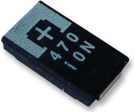 2R5TPE220M, Surface Mount Tantalum Capacitor, 220 мкФ, 2.5 В, Серия TPE, 2917 [7343 Метрический], -55 °C