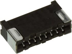 08FMS-1.0SP-TF(LF)(SN), FFC / FPC разъем, LIF, 1 мм, 8 контакт(-ов), Гнездо, Серия FMS, Поверхностный Монтаж, Верх, Низ