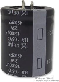 ECEC1CP683EJ, Электролитический конденсатор, 68000 мкФ, 16 В, Серия UP, ± 20%, Быстрое Соединение, С Защелкой