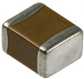 LD061C104KAB2A, CERAMIC CAPACITOR 0.1UF, 100V, X7R, 10%, 1206, FULL REEL