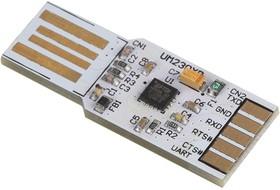 UMFT230XB-NC, Макетная плата, USB-UART, USB2.0 FS, 3Мбод UART, встроенная ROM, выход 3.3В