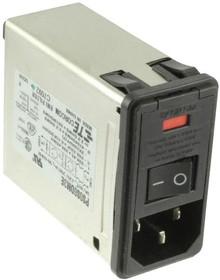 4-1609153-6, IEC фильтр, 250 В AC, Стандартный, 3 А, Быстрое Соединение
