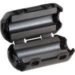Фото 8/9 Ферритовый фильтр на кабель с защелкой ZCAT1730-0730A-BK, черный