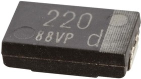 EEF-CX1E220R, ALUMINUM ELECTROLYTIC CAPACITOR, 22UF, 25V, 20%, 2917