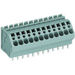 0745-0302, TERMINAL BLOCK, PCB, 2 POSITION, 24-10AWG