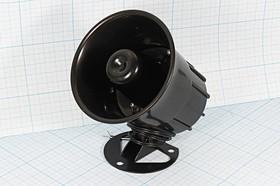 Громкоговоритель(Динамик в корпусе), диаметр 100мм, глубина 105мм, 8 Ом, 10 Вт, №8265 громкоговоритель 100x105\ 8\10\\PA-40P\