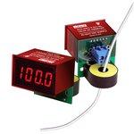 ACA-20PC-2-AC1-RL-C, Амперметр переменного тока цифровой, измерительная головка до 19,99А, красный