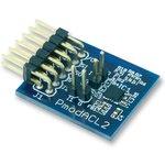 410-255, Расширительная плата, PmodACL2, ADXL362 3-осевой МЭМС акселерометр ...
