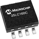 Фото 4/4 25LC160C-I/SN, EEPROM, 16 Кбит, 2К x 8бит, Serial SPI, 10 МГц, SOIC, 8 вывод(-ов)