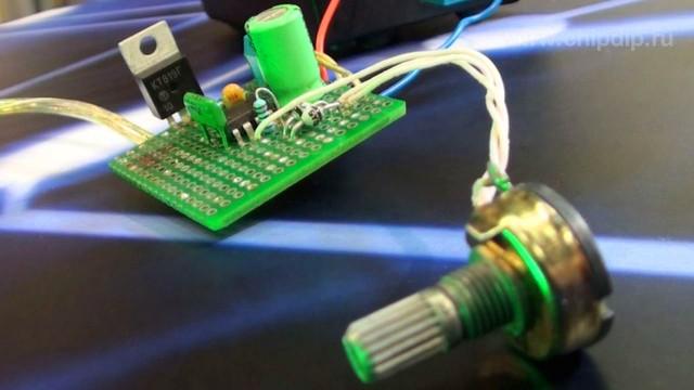 Регулятор яркости светодиодной ленты 39