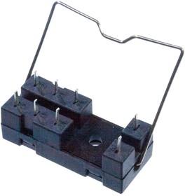 14F-2Z-A2, колодка для реле 8 контактов с зажимом (для G2R и др.)