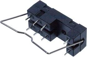 14F-2Z-A1, колодка для реле DIN рейка 5А/250В 8 конт.
