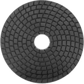 Алмазный гибкий шлифовальный диск черепашка для работы с подачей воды 100D-MESH 3000 04.100.300