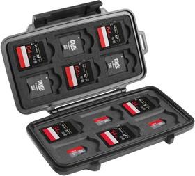 Фото 1/4 0915,SD CARD CASE,BLK,PELI Защитный кейс Peli™ черный для карт памяти SD