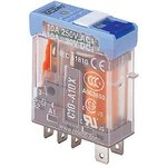 C10-A10X/240VAC, C2-A20 SPDT Non-Latching Relay Plug In, 240V ac Coil, 10A