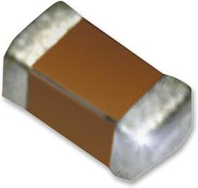 12065A222FAT2A, Многослойный керамический конденсатор, 1206 [3216 Метрический], 2200 пФ, 50 В, ± 1%, C0G / NP0