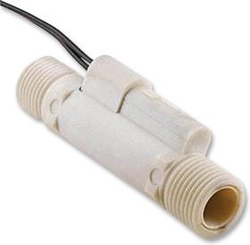 FCS-03, Переключатель потока, серия FCS, 0.1л/мин до 1.1л/мин, 9.525мм размер порта, SPST-NO, 250В AC, 1А