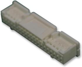 Фото 1/2 PUDP-40V-S, Разъем типа провод-плата, 2 мм, 40 контакт(-ов), Гнездо, Серия PUD, 2 ряд(-ов)