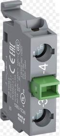 Фото 1/2 Блок контактный MCB-10B для монтажа в боксы 1НО