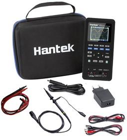 Фото 1/2 HANTEK 2D72, Портативный мини-осциллограф 70 МГц-мультиметр